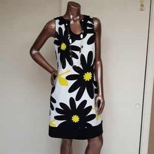 London Times Modern Daisy Dress